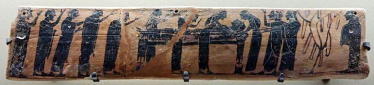 Rito funebre: l'Antica Grecia
